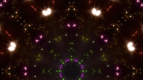 kaleidoscope particles 2 Dr 1a 3 HD Stock Video Footage
