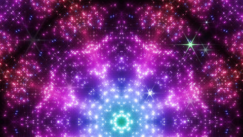 kaleidoscope particles 2 Dr 2a 3 HD Stock Video Footage