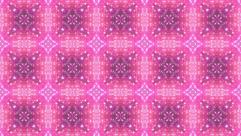 kaleidoscope particles 3 C 2a HD Stock Video Footage
