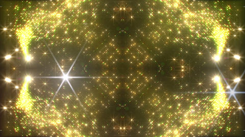 kaleidoscope particles 3 D 2a HD Stock Video Footage