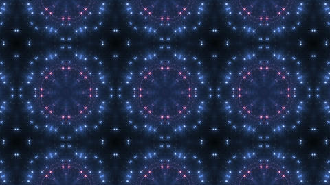kaleidoscope particles 3 Dr 2a HD Stock Video Footage