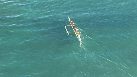 Hawaii outrigger Footage