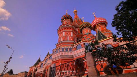 Sunny Moscow Kremlin stock footage