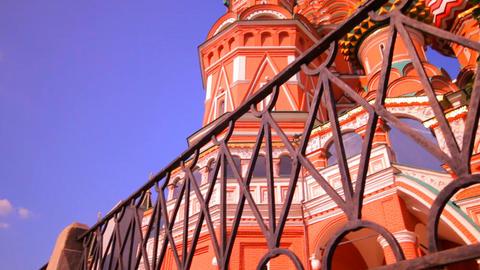 sunny Moscow kremlin Stock Video Footage