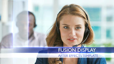 Fusion Display - After Effects Template After Effectsテンプレート