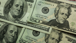 Money background Stock Video Footage