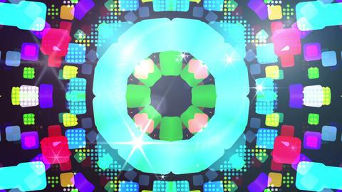 kaleidoscope apps S 7 Fb 2b 2 HD Stock Video Footage