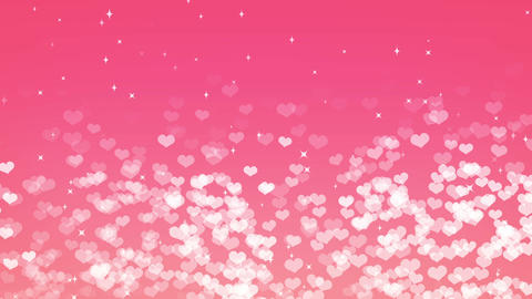 Heart gush, spring, backgraund Animation