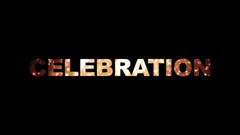 Celebration fireworks 01 Stock Video Footage