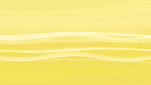 Simple Wave Yellow Loop Stock Video Footage