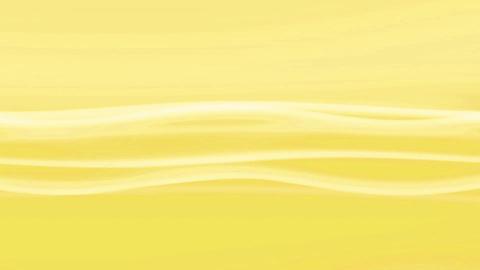 Simple Wave Yellow Loop Stock Video Footage