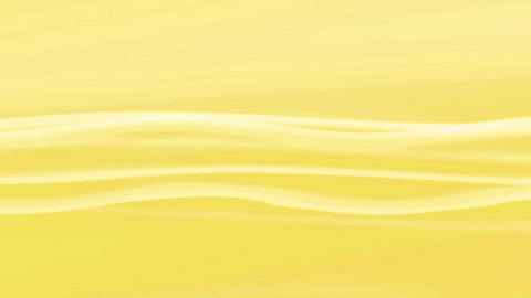 Simple Wave Yellow Loop Animation