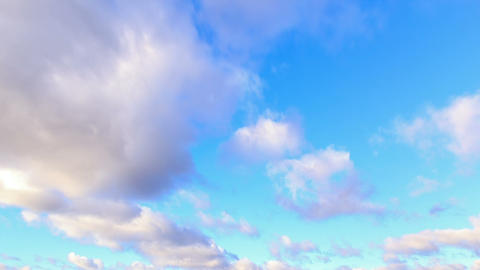 Autumn rain clouds. Time Lapse Stock Video Footage