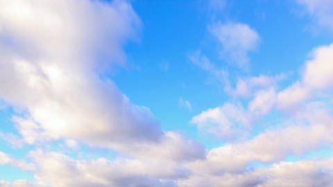 Autumn rain clouds. Time Lapse Footage