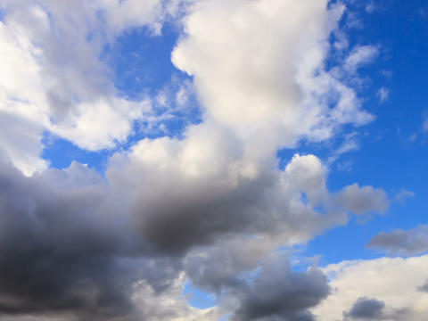 Clouds before sunset, Time Lapse Stock Video Footage