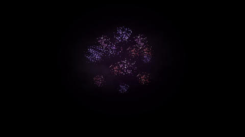 Fireworks 093 HD Stock Video Footage