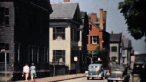 City Of Boston And Suburbia 1940 Vintage 8mm film Stock Video Footage