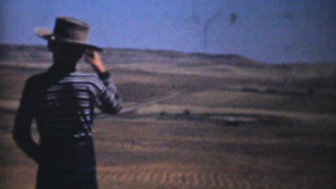 Little Boy On His Farm 1940 Vintage 8mm film Stock Video Footage