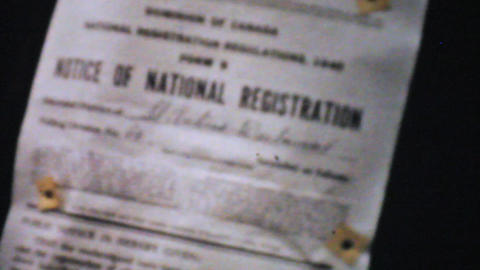 World War 2 Military Recruitment Signs 1940 8mm Stock Video Footage