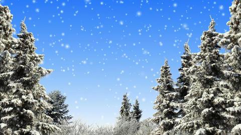 Winter Scene Animation