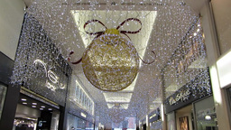 Shopping at Christmas 8 Stock Video Footage