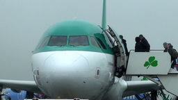 A320 Aircraft 2 Stock Video Footage