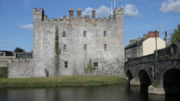 Athy Castle Stock Video Footage