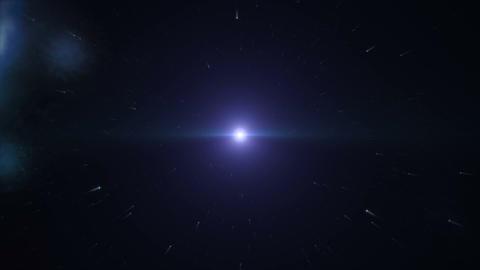 Space Flight 4 Stock Video Footage