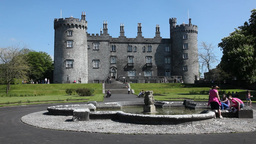 Kilkenny Castle 2 Stock Video Footage