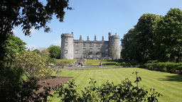Kilkenny Castle 4 Stock Video Footage