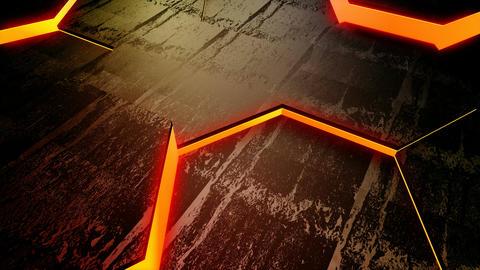 hexagon tile glow Stock Video Footage
