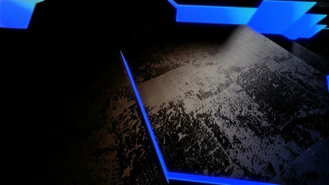 blue neon tile Stock Video Footage