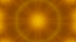 golden canvas kaleidoscope Stock Video Footage