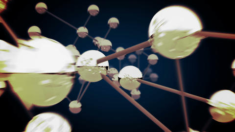 Flying through Abstract Molecular Structure Archivo