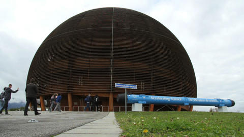 CERN in Geneva Footage