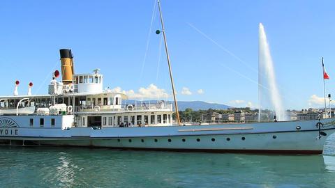 Geneva Boat stock footage
