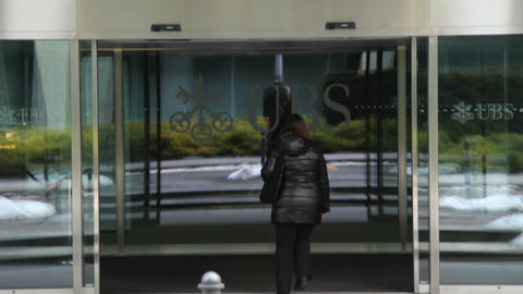 UBS - Geneva Stock Video Footage