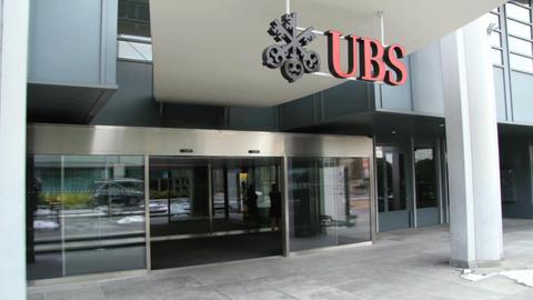 UBS - Geneva Stock Video Footage