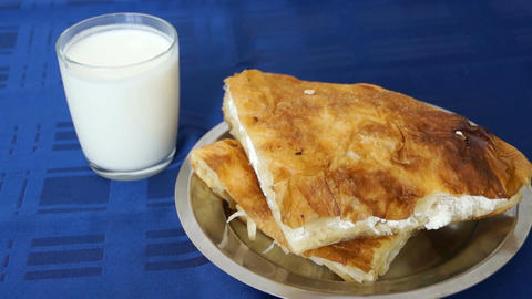 Burek Stock Video Footage