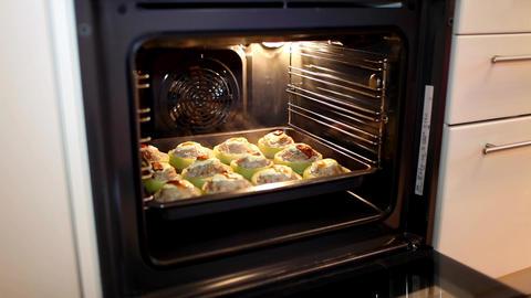 stuffed zucchini Footage