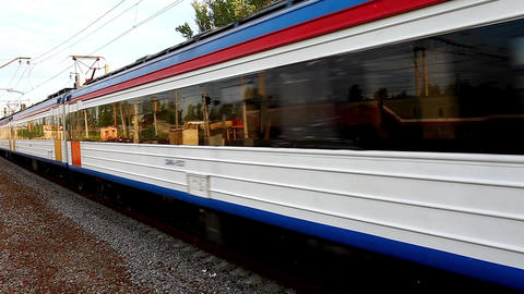 Electric Train Footage