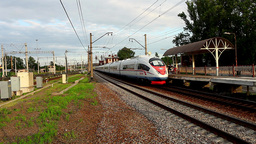 high-speed train Stock Video Footage