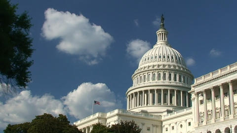 US Capitol stock footage