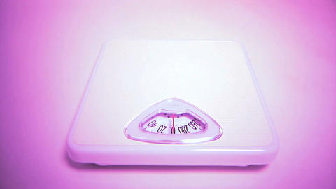 Scale Weigh In Stock Video Footage