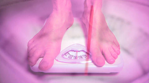 Scale Weigh In stock footage