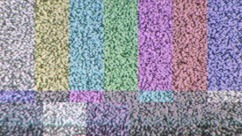 Color Bar Test Pattern Live Action