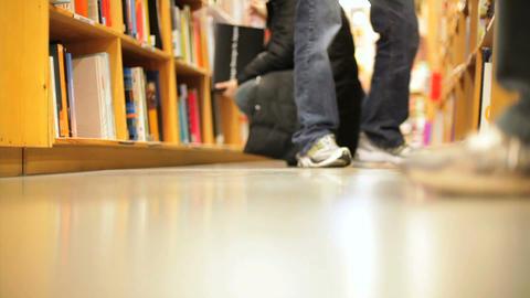 Book Shelves Footage