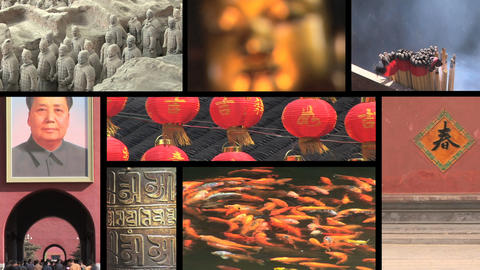 China Montage Stock Video Footage