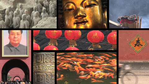 China Montage stock footage