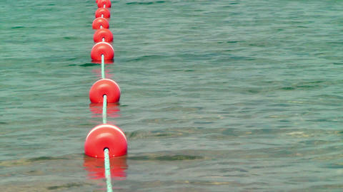 Swim Area Boundary Stock Video Footage